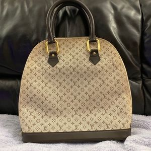 Louis Vuitton Limited Edition Mini Lin Alma